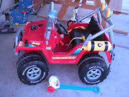 jeep toy fisher price power wheels fire rescue jeep toy review
