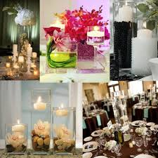 Wedding Centerpieces Floating Candles And Flowers by Wedding Photos Candles Centerpieces Love The Rock Then Flower And
