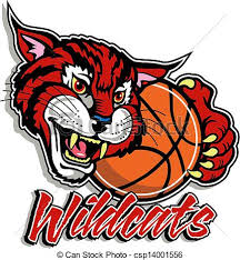 basketball clipart images wildcat with basketball clipart vector search illustration
