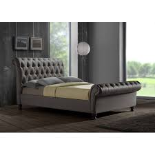 Grey Bed Frame Grey King Bed Frame The School House