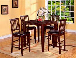 6 Person Kitchen Table 6 Person Bar Height Table Black Dining Table With Leaf Furniture