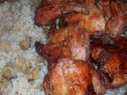 cuisiner lapin recette lapin mariné rôti et riz aux chignons cuisinez lapin
