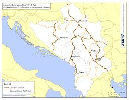 Rail Map Of Europe by Routes U2013 Rail Seeto South East Europe Transport Observatory