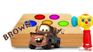 p2 learn colors with cars 3 lightning mcqueen surprise eggs