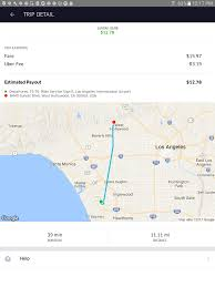 Los Angeles International Airport Map by As The Crow Flies Cancel Fee As Payment For Trips Uber