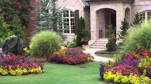 Landscaping Around House by Garden And Patio Purple Flower Plants For Backyard Landscaping