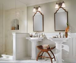 beautiful white country bathroom decorating ideas showing off f