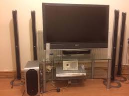 home theater tv stand home theatre system with sony bravia 40