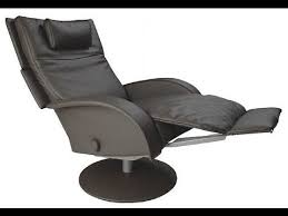 swivel recliner chairs with footstool black youtube
