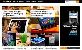 techieblog responsive free blogger template blogger theme forum