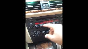 2006 bmw 325i clock setup youtube