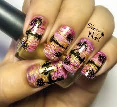 reflexion in the water nail art tutorial nail nails nailart