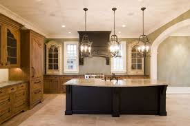 kitchen pendant lights and kitchen island with two tone kitchen