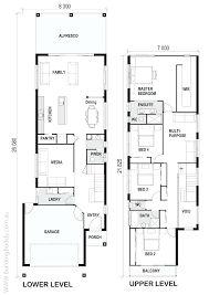 narrow house plan luxury narrow lot house plans click on large image to enlarge even
