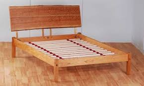 Simple Platform Bed Frame Basic Platform Bed Frame With Live Edge Headboard 500