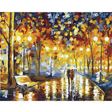 hand painting canvas oil painting frameless diy digital oil