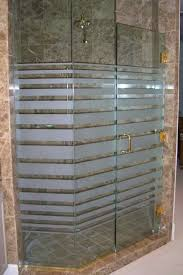 Etched Shower Doors Exdg Bds Glass Shower Doors Etched Glass Modern Decor