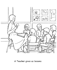 teacher u0027s day coloring pages coloring kids