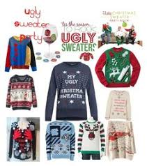 The Ugly Christmas Sweater Party - ugly sweater party irl