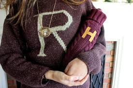 diy weasley sweater wine bottle cozy popsugar smart living