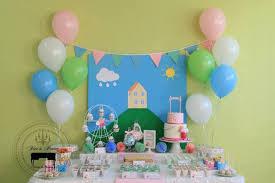 peppa pig decorations kara s party ideas peppa pig themed birthday party via kara s