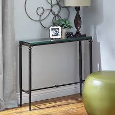 Table Glass Top Lincoln Tempered Glass Top Console Table Pier 1 Imports