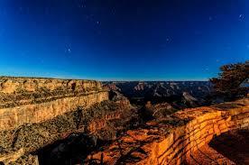 el tovar hotel grand canyon village arizona night long exposure