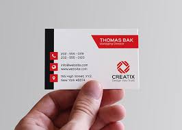 corporate business card graphic