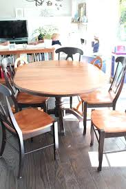 Dining Table  Dining Table Sets Refinishing Dining Table Glossy - Sanding kitchen table
