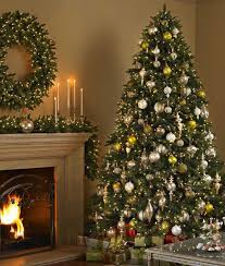 pre decorated artificial christmas trees christmas2017
