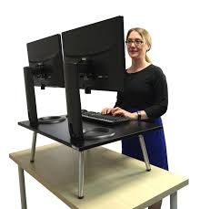 sit and stand desk converter top 75 tremendous stand up desk adjustable desktop workstation