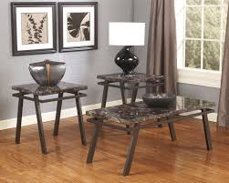 Ashley Bedroom Set With Marble Top Marble Stone Top Coffee And End Tables