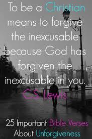 important bible verses unforgiveness