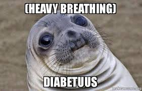 Heavy Breathing Meme - heavy breathing diabetuus squeamish seal make a meme