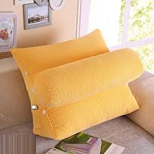 bed pillow for reading vercart sofa bed large filled triangular wedge cushion bed