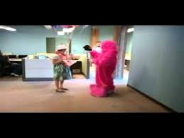 singing gram chicago pink gorilla happy birthday singing telegram