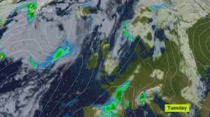 Storm Map Weather Forecast Storm Angus Heavy Rain And High Winds To Give