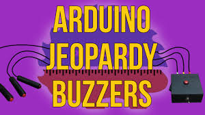 making jeopardy buzzers with sounds arduino how to youtube