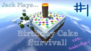 Survival Maps Minecraft Survival Maps Birthday Cake Survival With