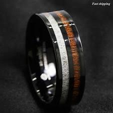 cincin tungsten carbide koa ring ebay