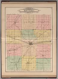 County Map Of Indiana Outline Map Of Rush County Indiana David Rumsey Historical Map