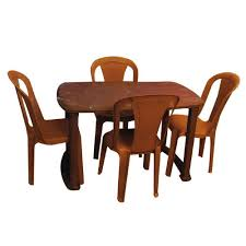plastic round table and chairs modern home design exquisite nilkamal plastic dining table set