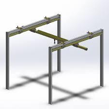 3d light crane cgtrader