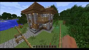 small house minecraft minecraft small house 1 stone bricks u0026spruce wood youtube