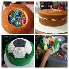 soccer cake soccer pinata cake she s so sweet