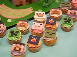 19 best minecraft cupcakes images on pinterest minecraft
