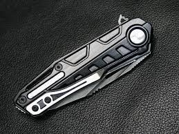 raikiri dew hara custom tactical folding knife custom knives