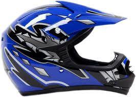 blue dirt bike boots amazon com youth offroad gear combo helmet gloves goggles dot