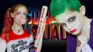 harley quinn the joker squad makeup tutorial
