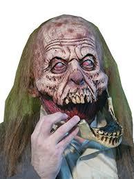 Halloween Costumes Zombies Slack Jaw Creepy Gory Zombie Horror Monster Latex Halloween